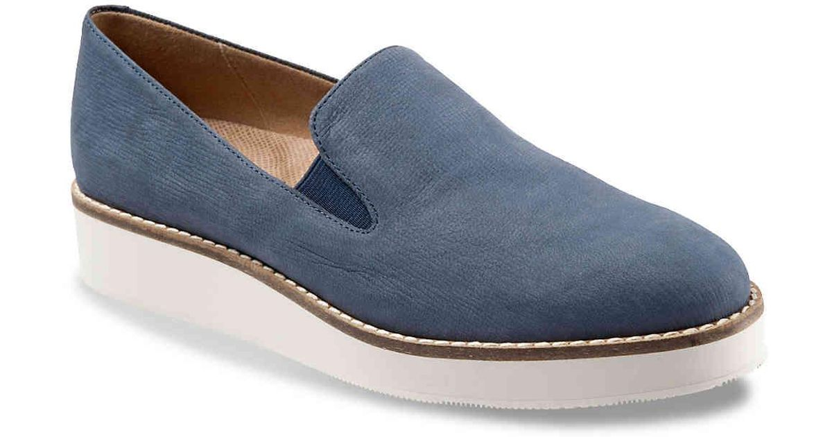 ca5087e16b8 Softwalk® Blue Whistle Wedge Loafer