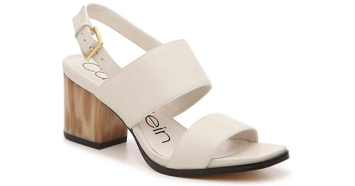Calvin Klein Rosemary Crevo Sandal in
