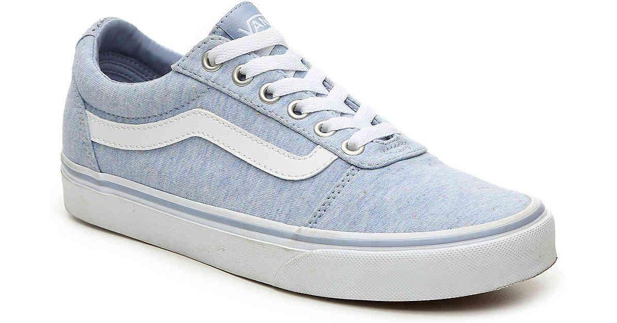 9f95d561b7b1 Lyst - Vans Ward Lo Sneaker in Blue