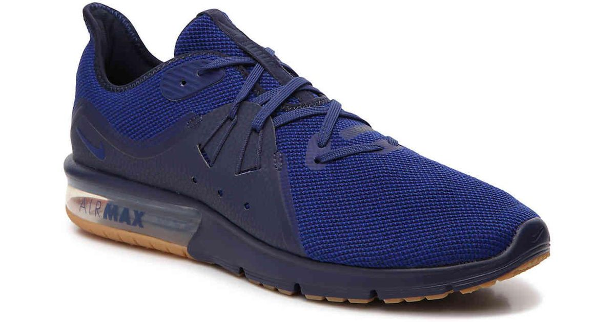 Nike Synthetic Air Max Sequent 3 Performance Running Shoe in