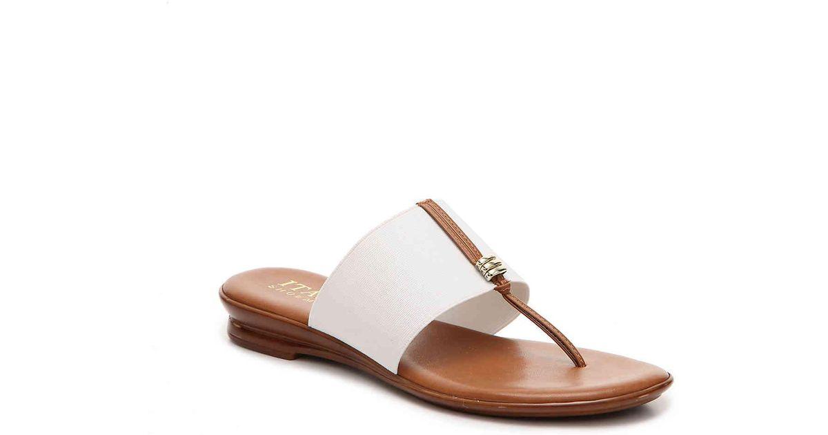 Italian Shoemakers Zelda Embellished Thong Sandal Wxrwt0F