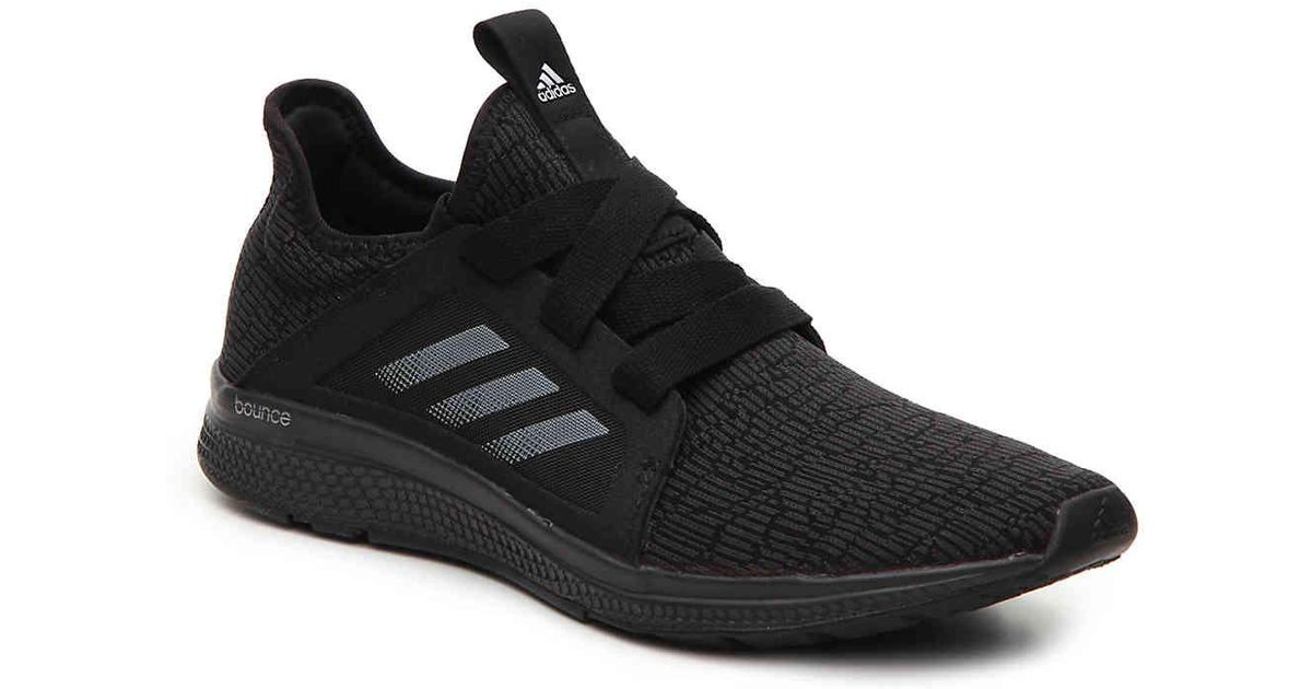c0473fa30 Lyst - adidas Edge Bounce Lightweight Running Shoe in Black