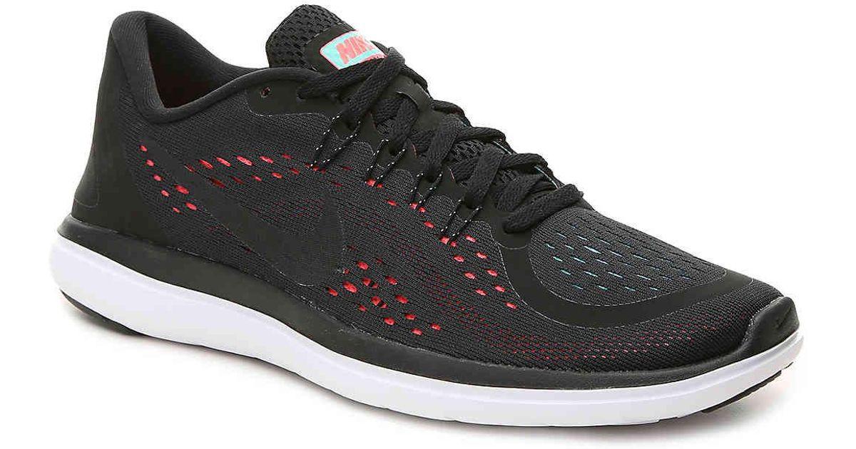 Nike Black Flex 2017 Rn Lightweight Running Shoe