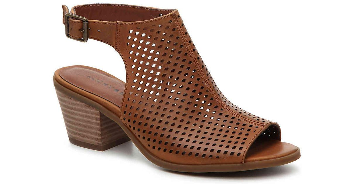 Lucky Brand Noomrie Block Heel Mules XPqQGpCWk