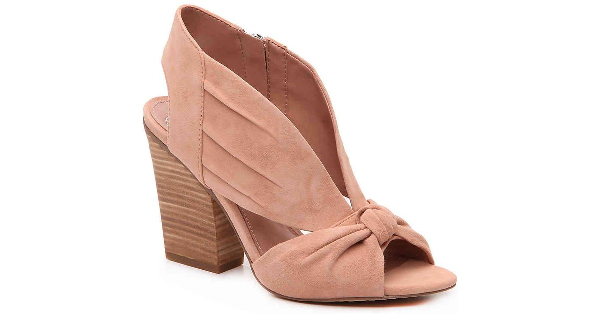 Vince Camuto Kerra Sandal In Dusty Pink Suede Pink Lyst