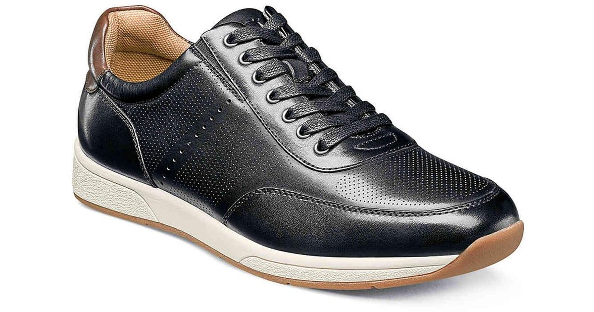 Florsheim Leather Fusion Sneaker in