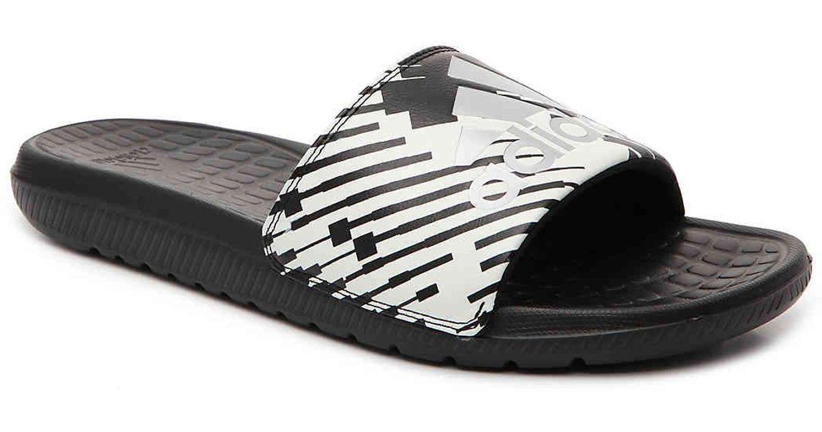 8f17116327c29 Adidas Black Voloomix Gr Slide Sandal for men