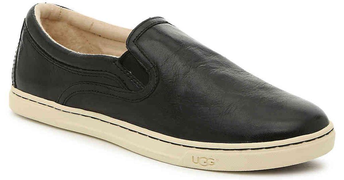 UGG Leather Kitlyn Slip-on Sneaker in