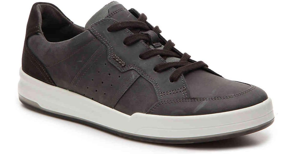 50a97e2eb6b6 Lyst - Ecco Jack Sneaker in Black for Men