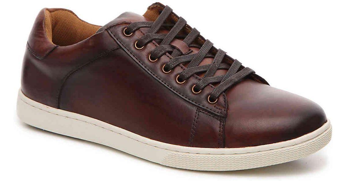 Steve Madden Leather Sable Sneaker in