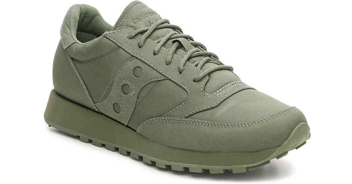 low priced d3ca5 6425f Saucony Green Jazz O Mono Retro Sneaker for men