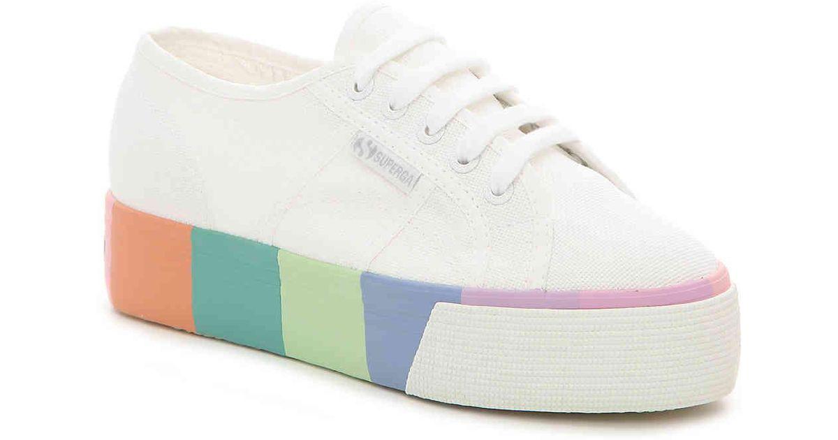 2790 Color Block Platform Sneaker