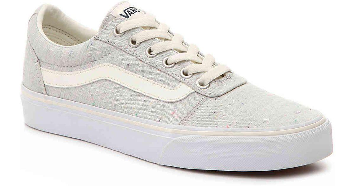 Lyst - Vans Ward Lo Sneaker in Gray 3e65cd42c