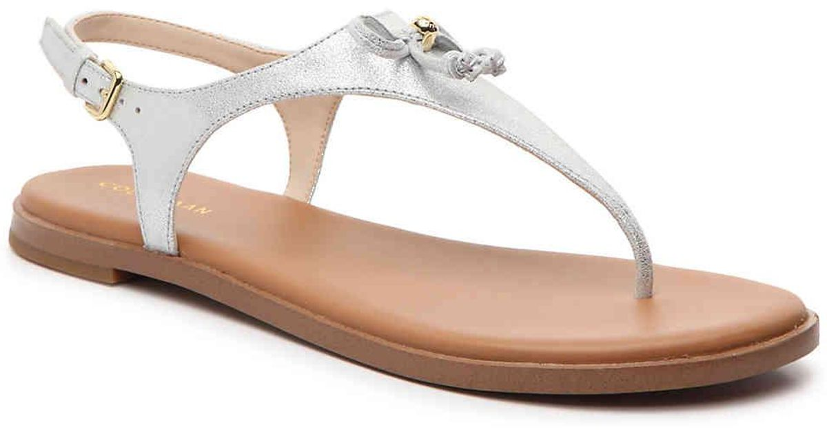 more photos boy street price Cole Haan Metallic Findra Sandal