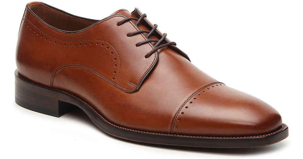 Johnston & Murphy Men's Sanborn Plain-Toe Lace-Up Oxfords Men's Shoes kl2bJBans