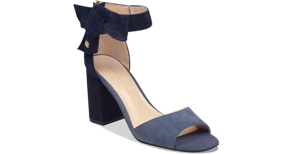 e748461284c712 Lyst - Tommy Hilfiger Seera Sandal in Blue