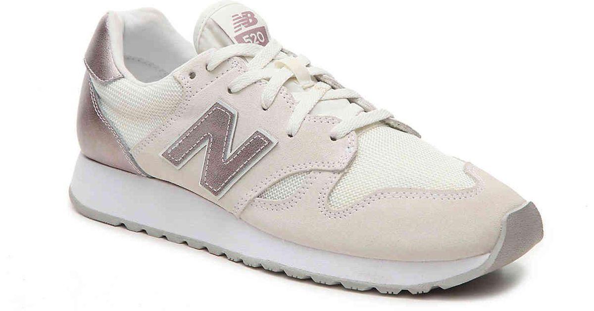 New Balance Suede 520 Sneaker in Cream