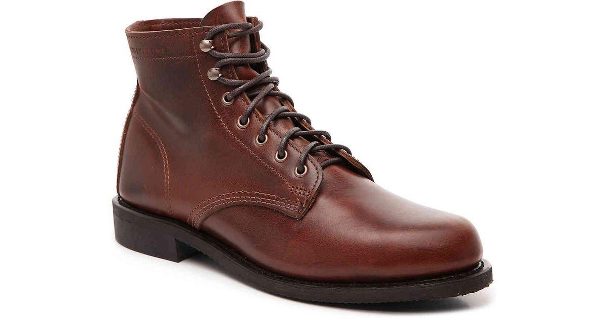 9b2bbfc9e16 Wolverine Brown Kilometer Ii Boot for men