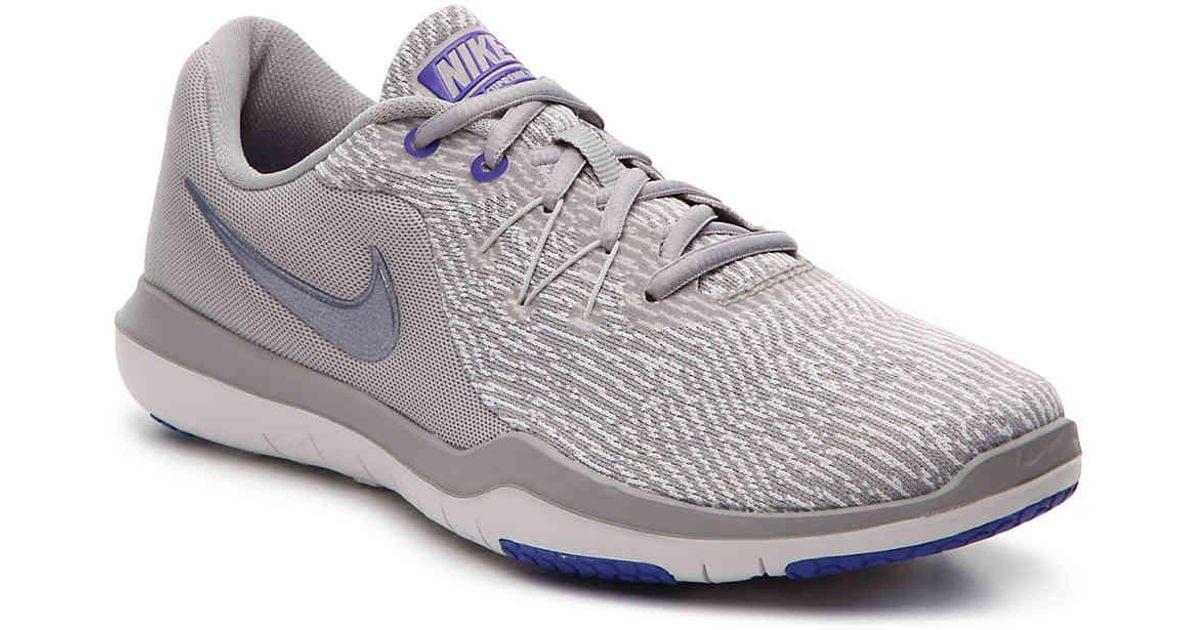 Lyst Nike Flex Supreme 6 Lightweight Training Shoe in Gray