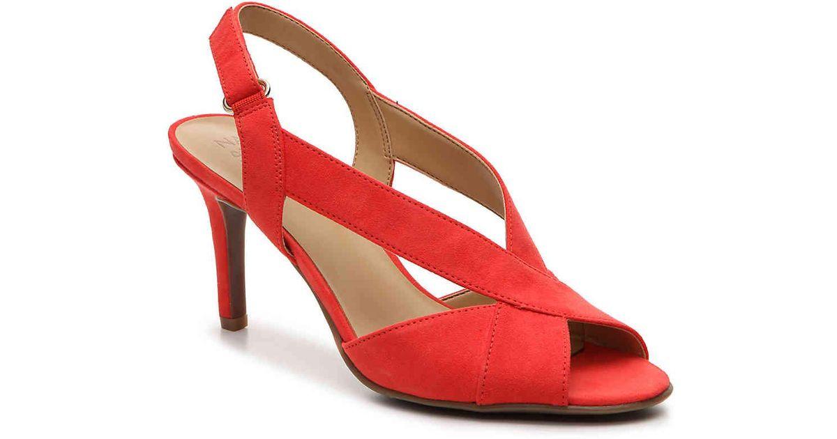 Naturalizer Barrie Slingback Dress Sandal (Women's) tmPau8w