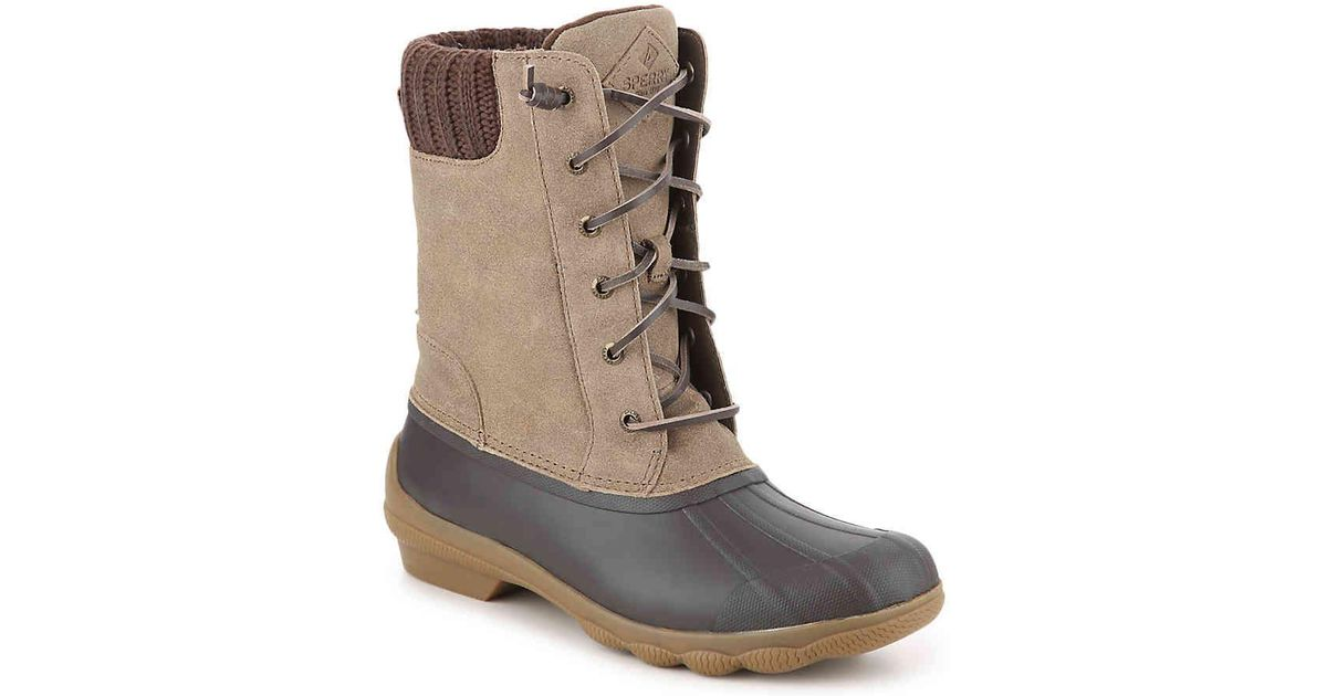 272ad0bf04d Sperry Top-Sider Brown Syren Misty Duck Boot