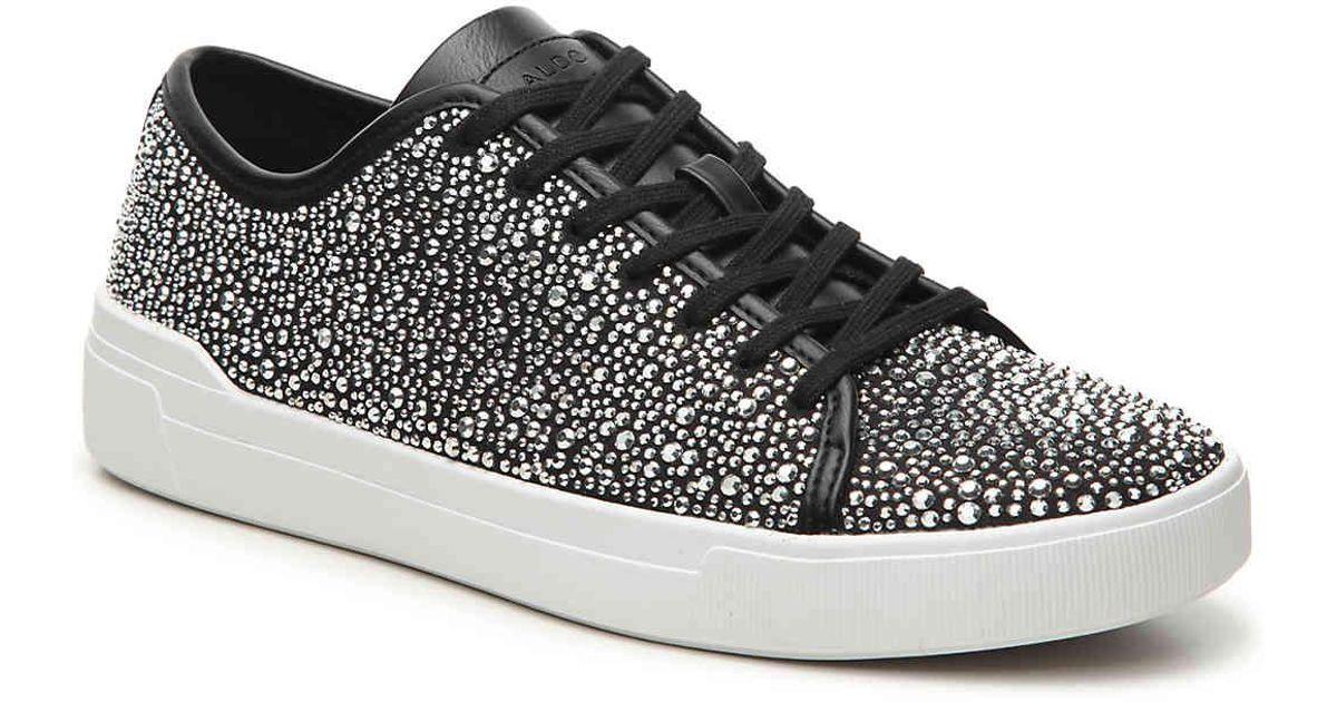 ALDO Haener Stone Sneaker in Silver