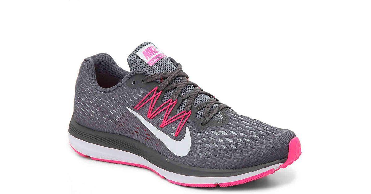 germany nike lunarglide dsw 09461 31d2e  germany lyst nike zoom winflo 5  running shoe in gray ecfa6 7db7f 5c4099ce3