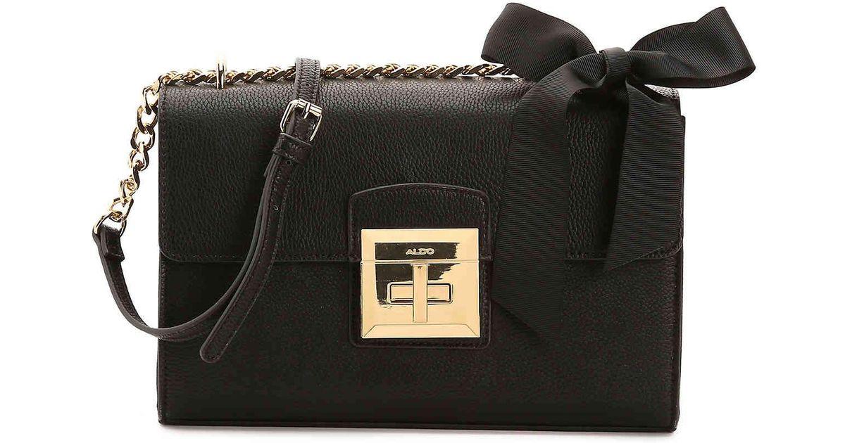 27e93100d1c ALDO Maenia Crossbody Bag in Black - Lyst