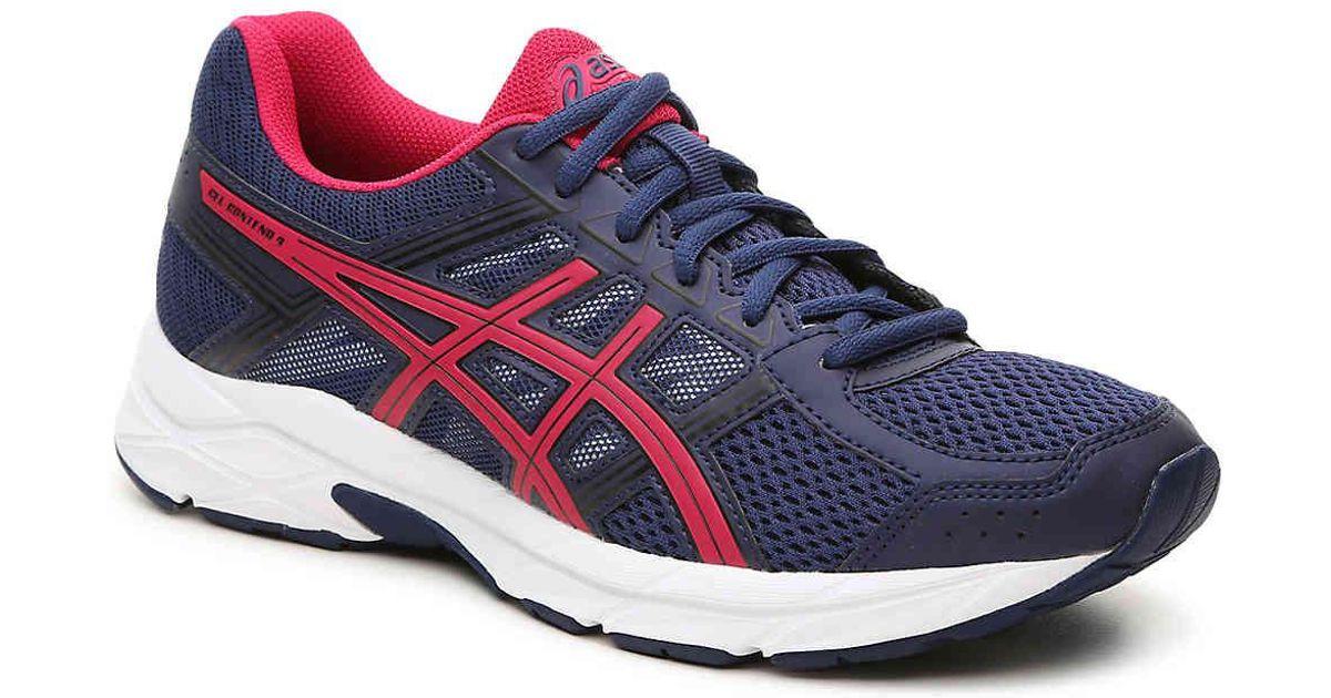 8d26cb330d71 Lyst - Asics Gel-contend 4 Running Shoe in Blue