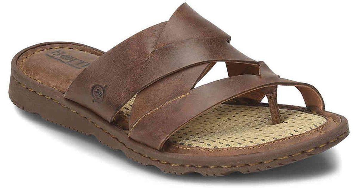 346fa220000e Lyst - Born Tarver Sandal in Brown
