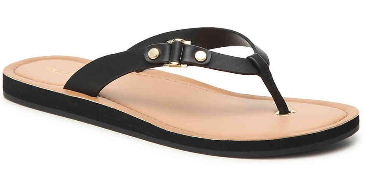ALDO Prardodia Sandal in Black - Lyst