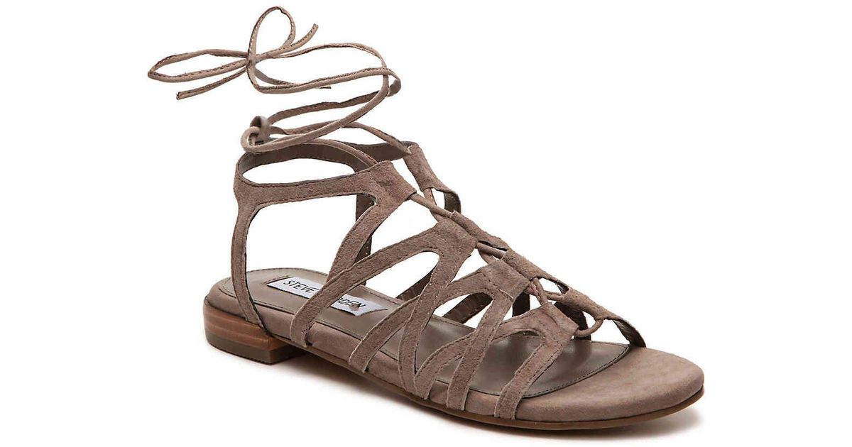 9a2345ac4179 Lyst - Steve Madden Guilly Gladiator Sandal in Brown