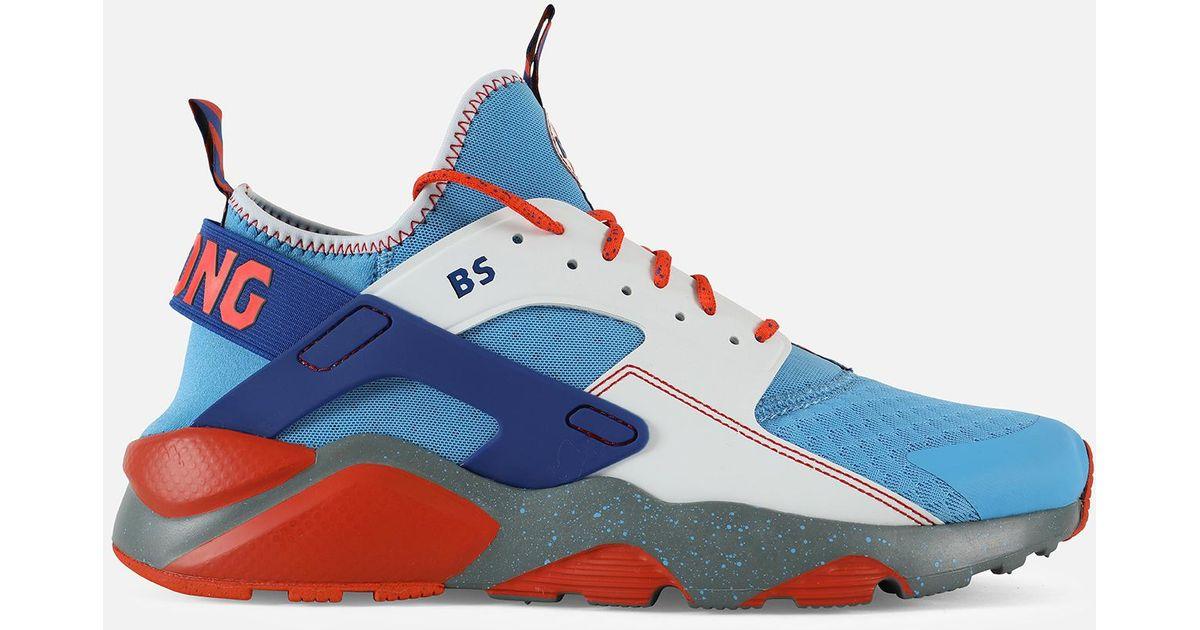 detailed look 673f4 46e8f Nike Blue Air Huarache Run Ultra Doernbecher for men