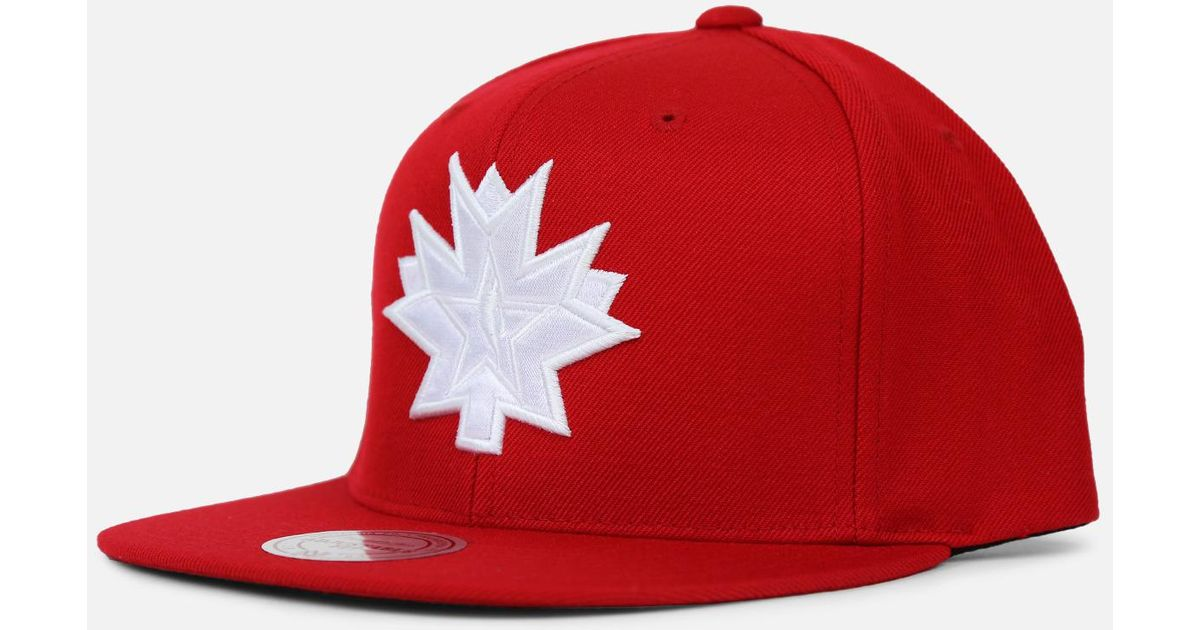 reputable site da92a 326aa ... where to buy lyst mitchell ness 2016 all star game toronto nba logo  snapback east in
