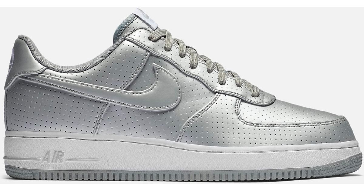 new arrival e9fa2 e6cf6 ... where can i buy lyst nike air force 1 07 lv8 metallic silver white in  gray