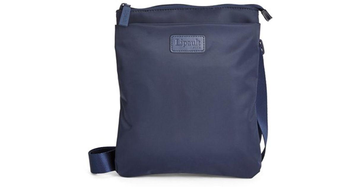 26107e99e Lipault Crossbody Bag in Blue for Men - Lyst