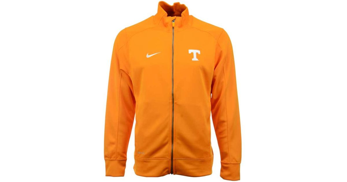 07bbf64a06 Lyst - Nike Men s Tennessee Volunteers Stadium Classic Track Jacket in  Orange for Men