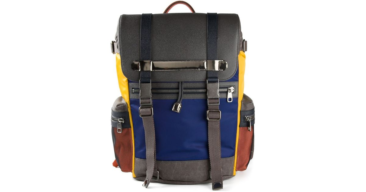 693117e3eb1e Dolce   Gabbana  Etna  Backpack in Blue for Men - Lyst