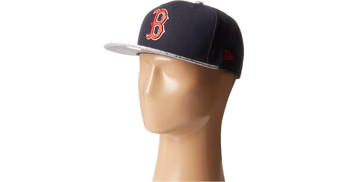 Lyst - KTZ Snap Foiler Boston Red Sox in Blue for Men 61fd65551815