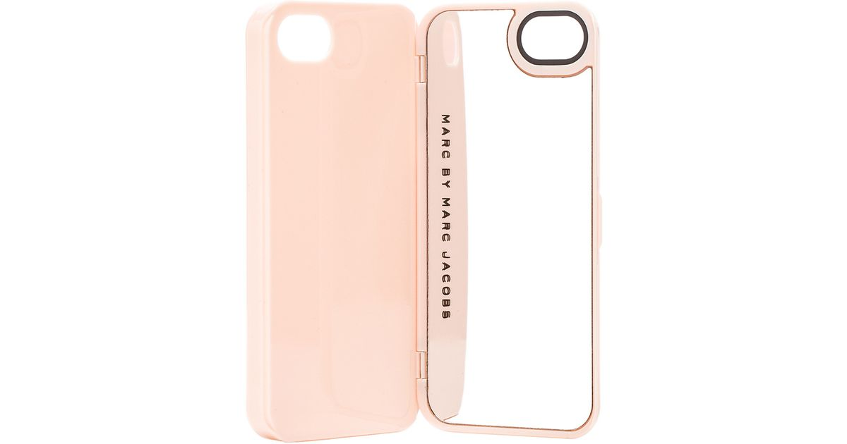 Marc By Marc Jacobs Pink Standard Supply Compact Mirror Iphone Case