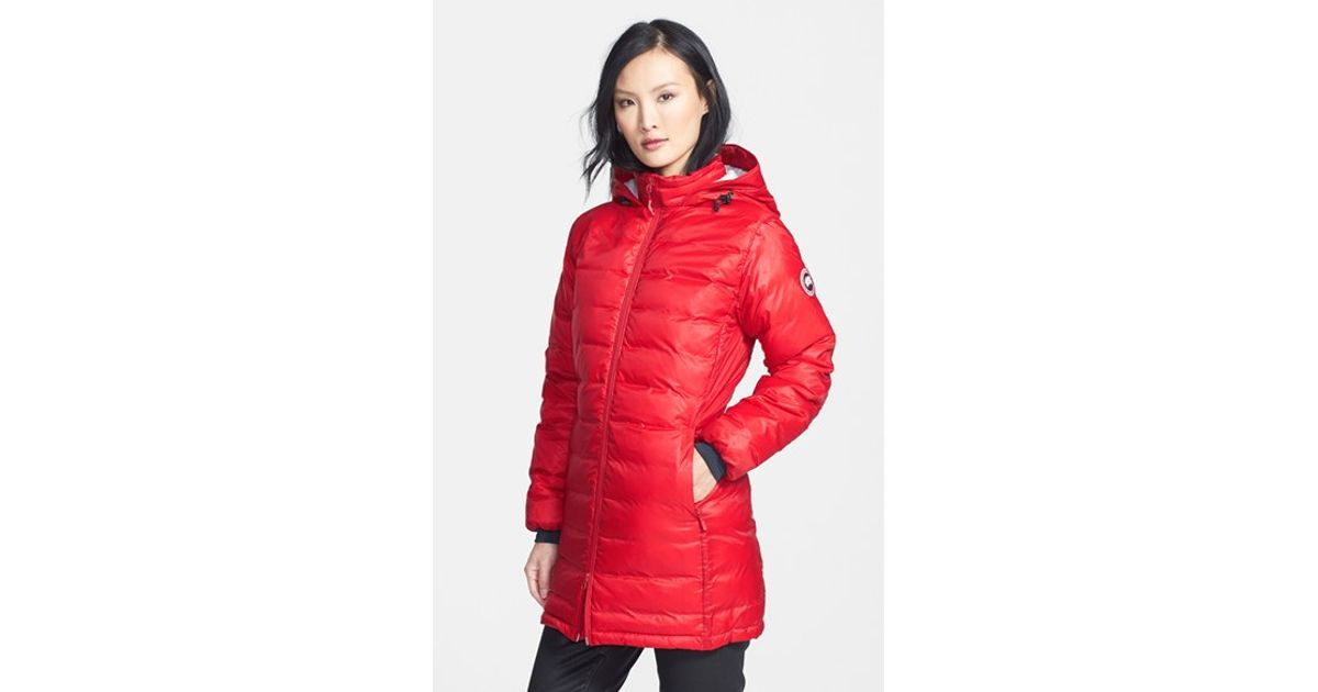 Canada Goose vest outlet authentic - Canada goose 'camp' Slim Fit Hooded Packable Down Jacket, White in ...