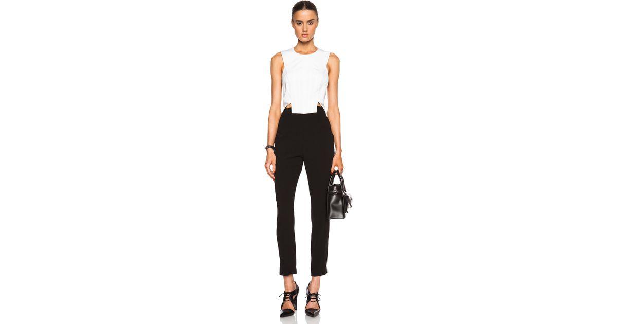 186b35d8e40 Lyst - Noam Hanoch Sunny Jumpsuit in Black