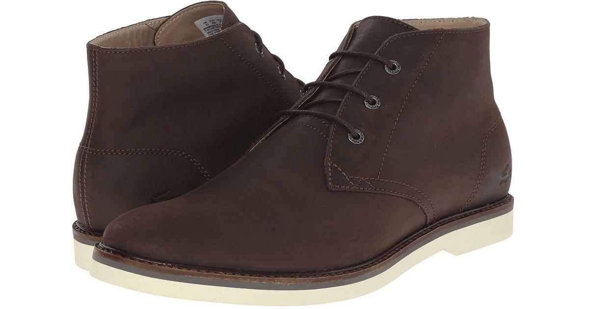 87fbbe5f5035 Lyst - Lacoste Sherbrooke Hi 116 1 in Brown for Men