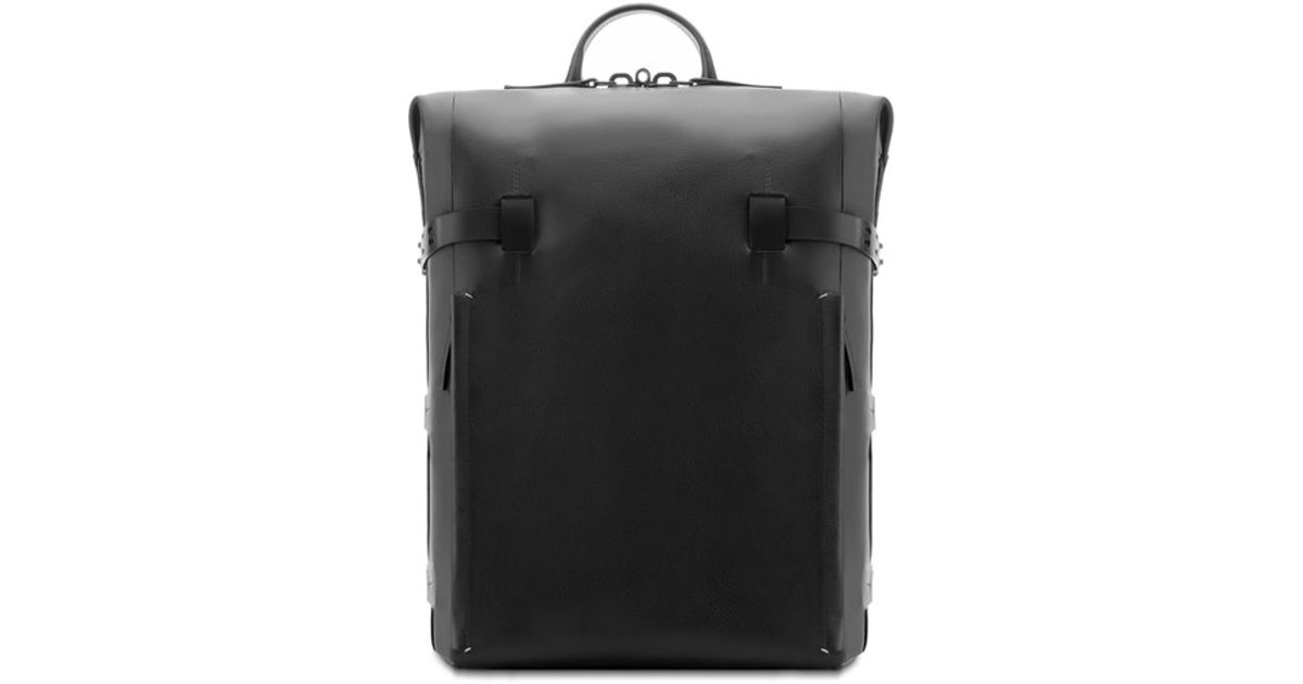 98aec6a5e Troubadour Leather Backpack in Black for Men - Lyst