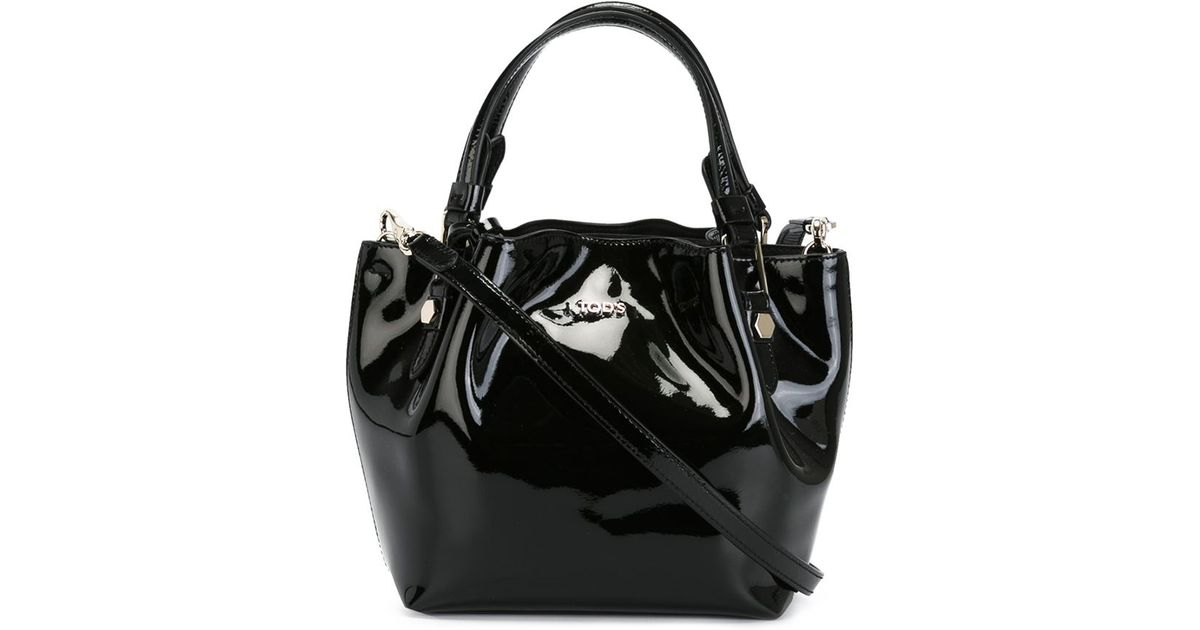 Tod S Micro  flower  Tote in Black - Lyst 3669312118dd1