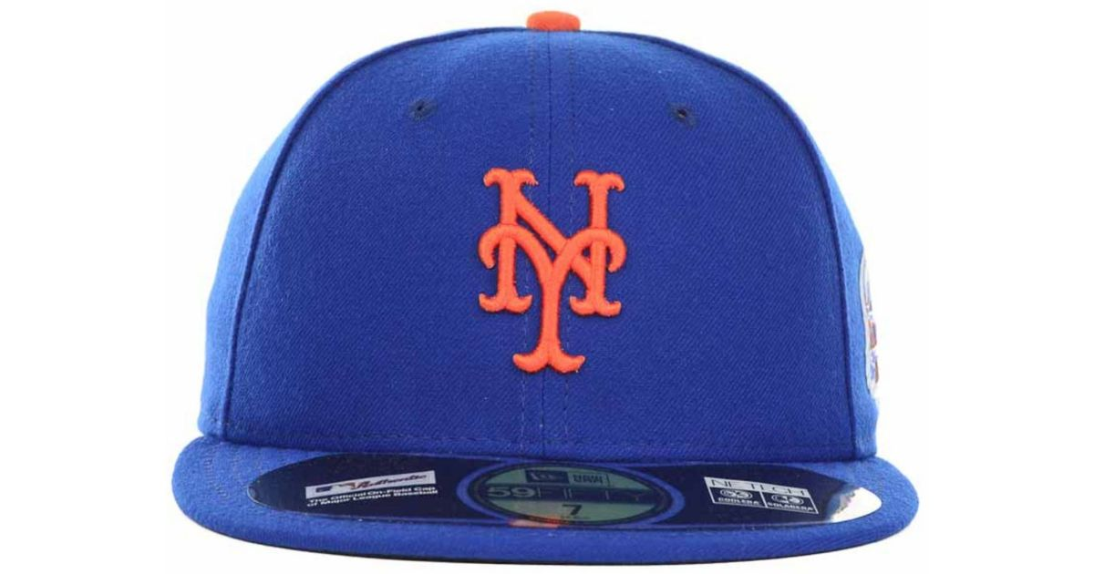 size 40 19e39 f03ab ... cheap lyst ktz new york mets mlb all star patch 59fifty cap in blue for  men