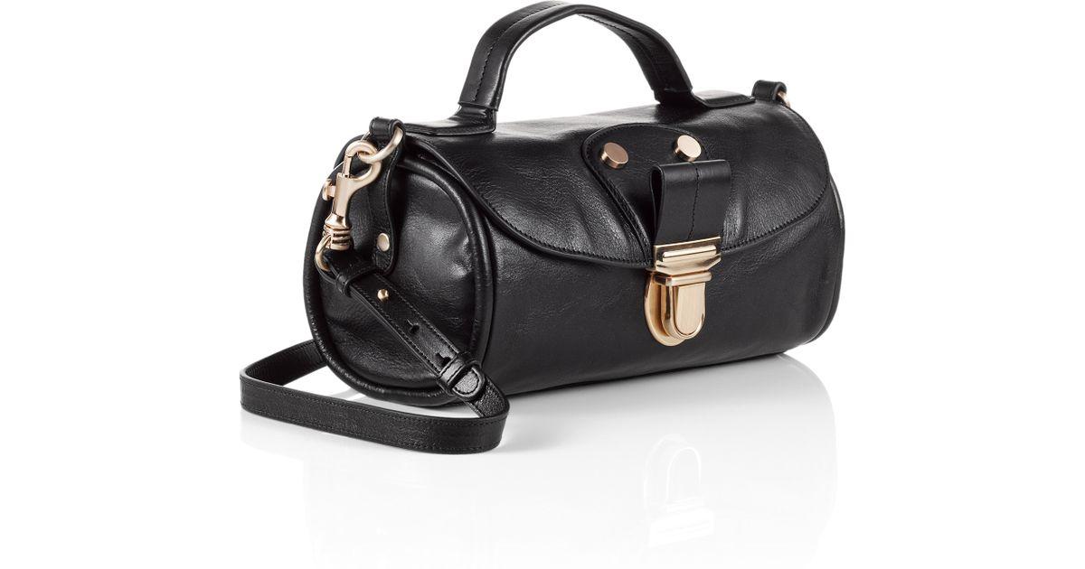 380b4aae73d BOSS Orange Leather Crossbody Bag 'Soraya' in Black - Lyst