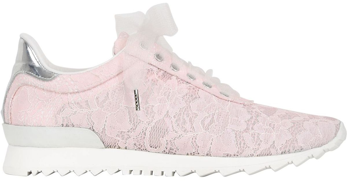Casadei Limited Edition Lace Sneakers