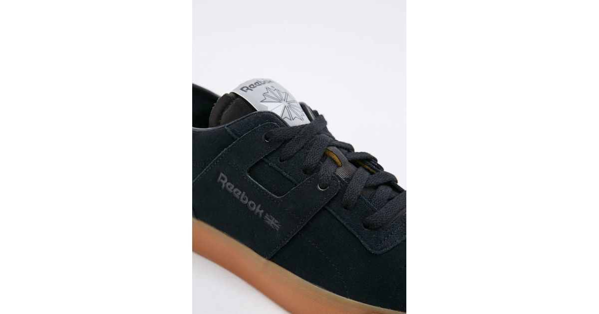 ae90429861a Reebok Workout Black Suede Trainers Fvs in Black for Men - Lyst