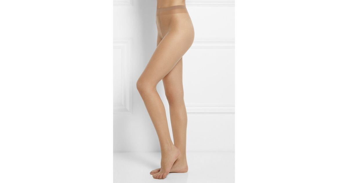 Falke Shelina Ultra-Transparent Shimmer 12 Denier Tights Coffee Brown